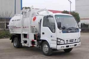 慶鈴五十鈴600P餐廚垃圾車
