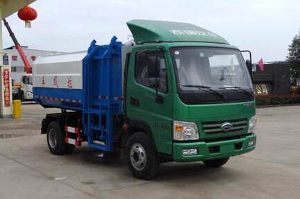 开瑞绿卡C压缩式对接垃圾车