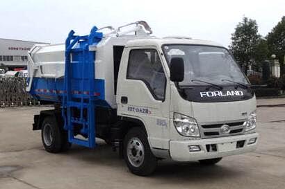 福田时代小卡之星2压缩式对接垃圾车