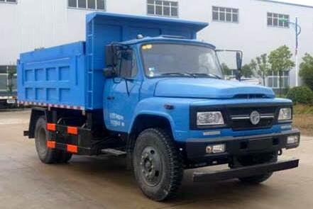 东风140自卸式垃圾车