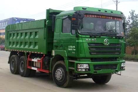 陕汽德龙F3000后双桥自卸式垃圾车
