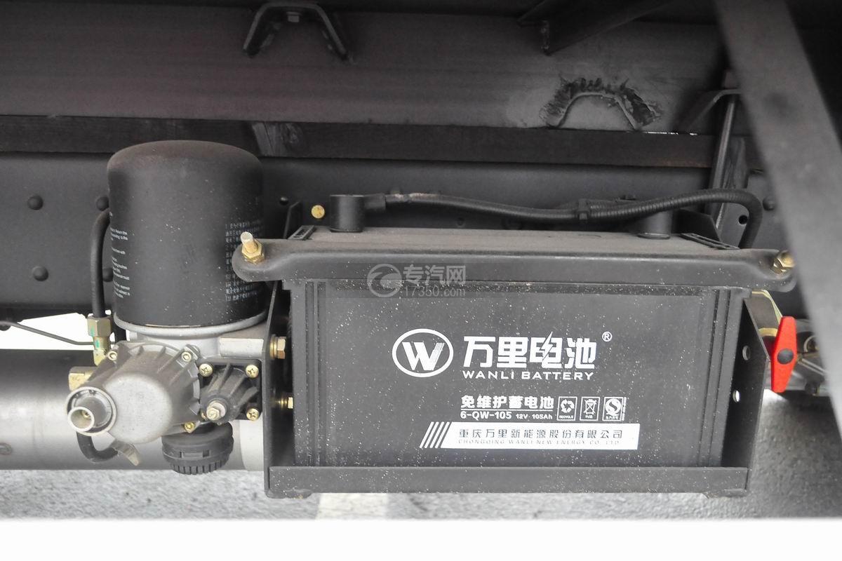 大运奥普力单排冷藏车蓄电池
