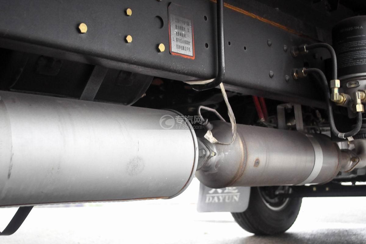 大运奥普力单排冷藏车排气管