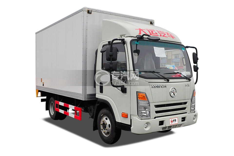 大运奥普力单排3.5米冷藏车