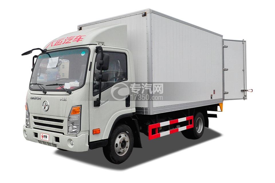 大运奥普力宽体单排4米冷藏车