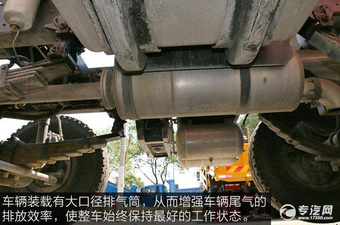 东风特商240马力自卸车排气筒