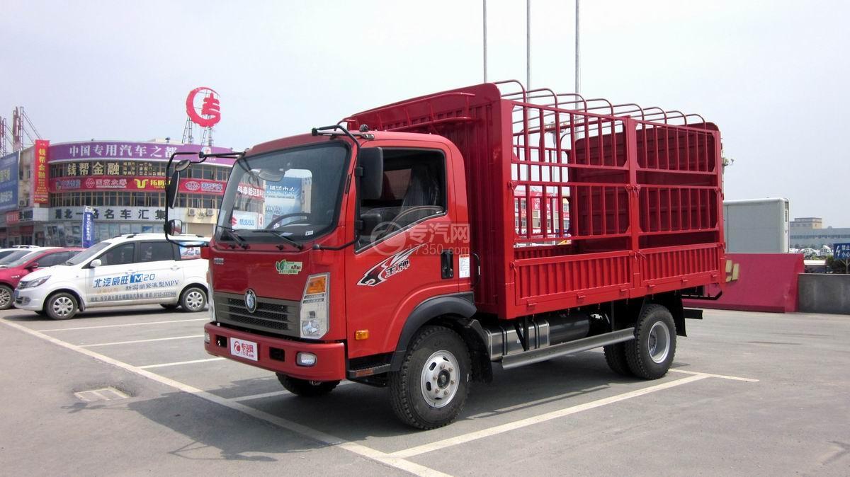 重汽王牌7系仓栏式运输车图片