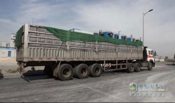 铝合金挂车在煤炭市场受欢迎