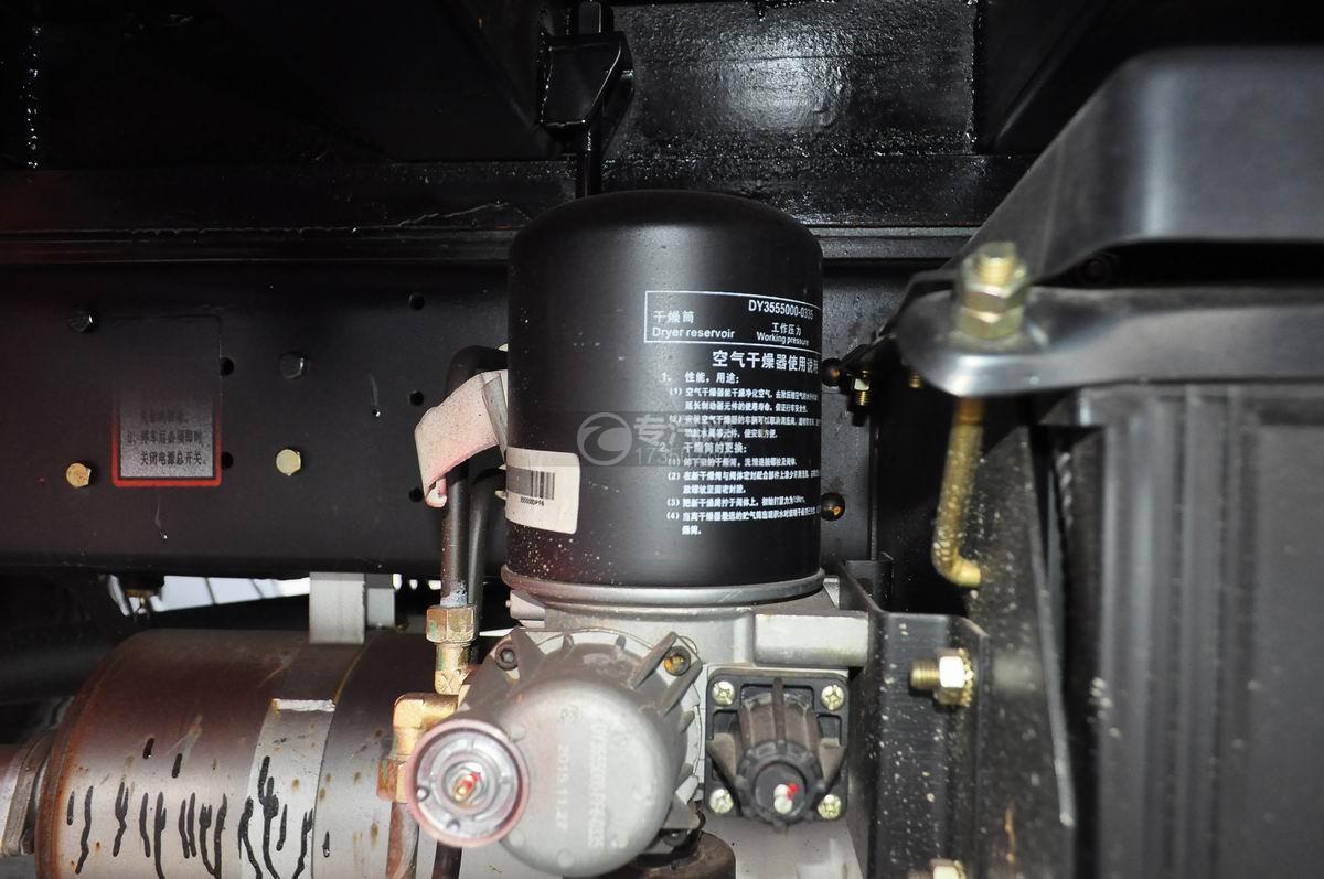 大运奥普力平板运输车空气干燥剂