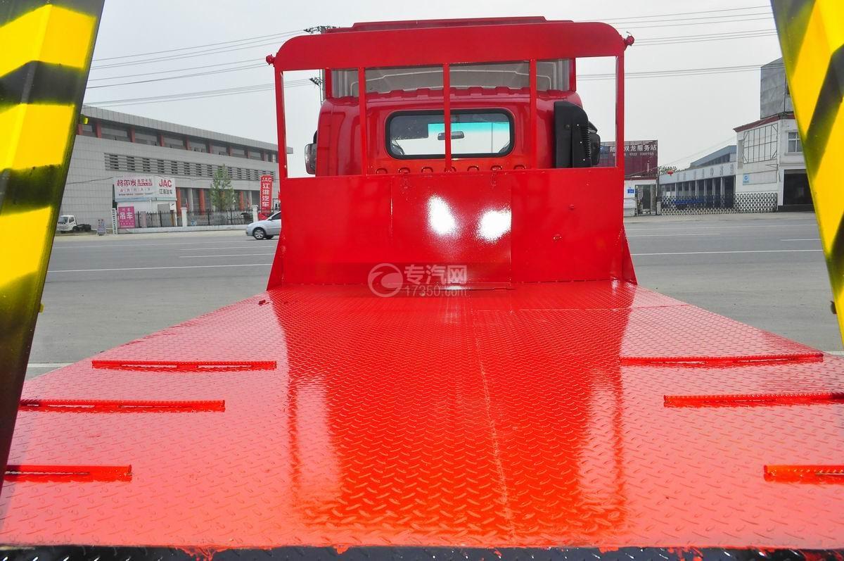 大运奥普力平板运输车平板