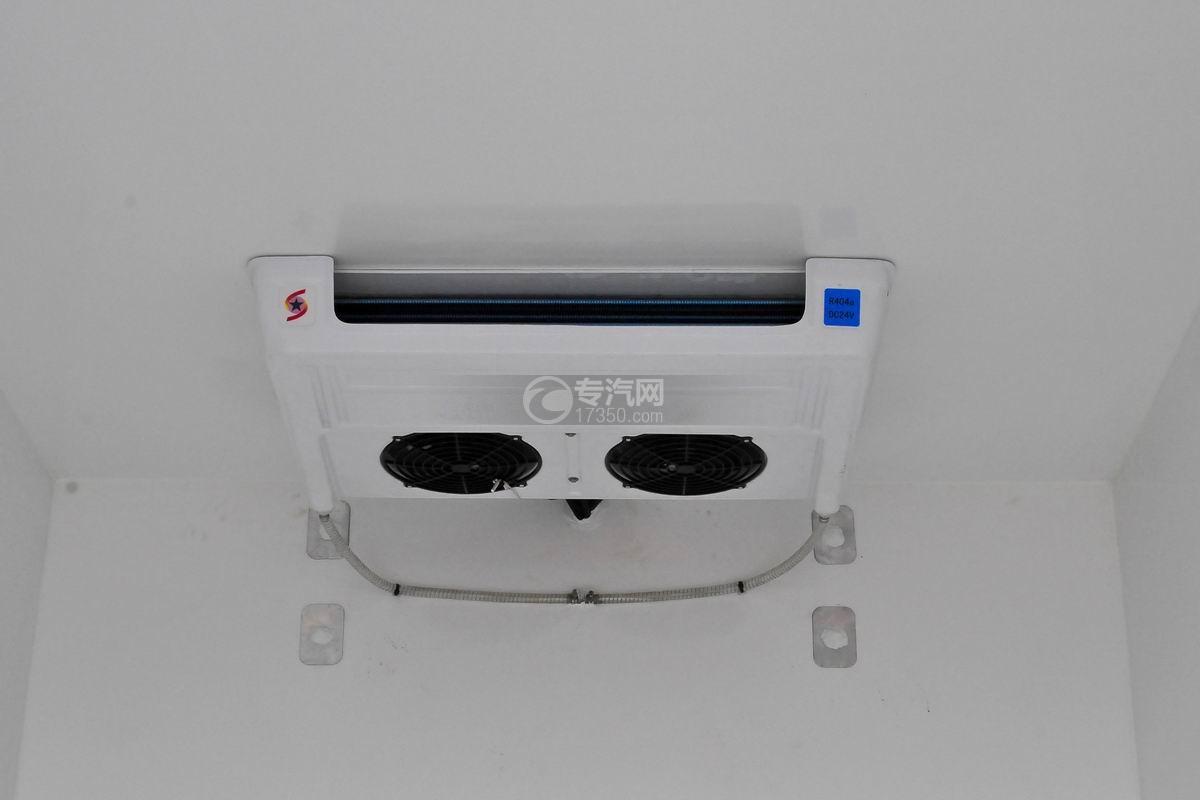 大運奧普力國五排半冷藏車冷藏機組