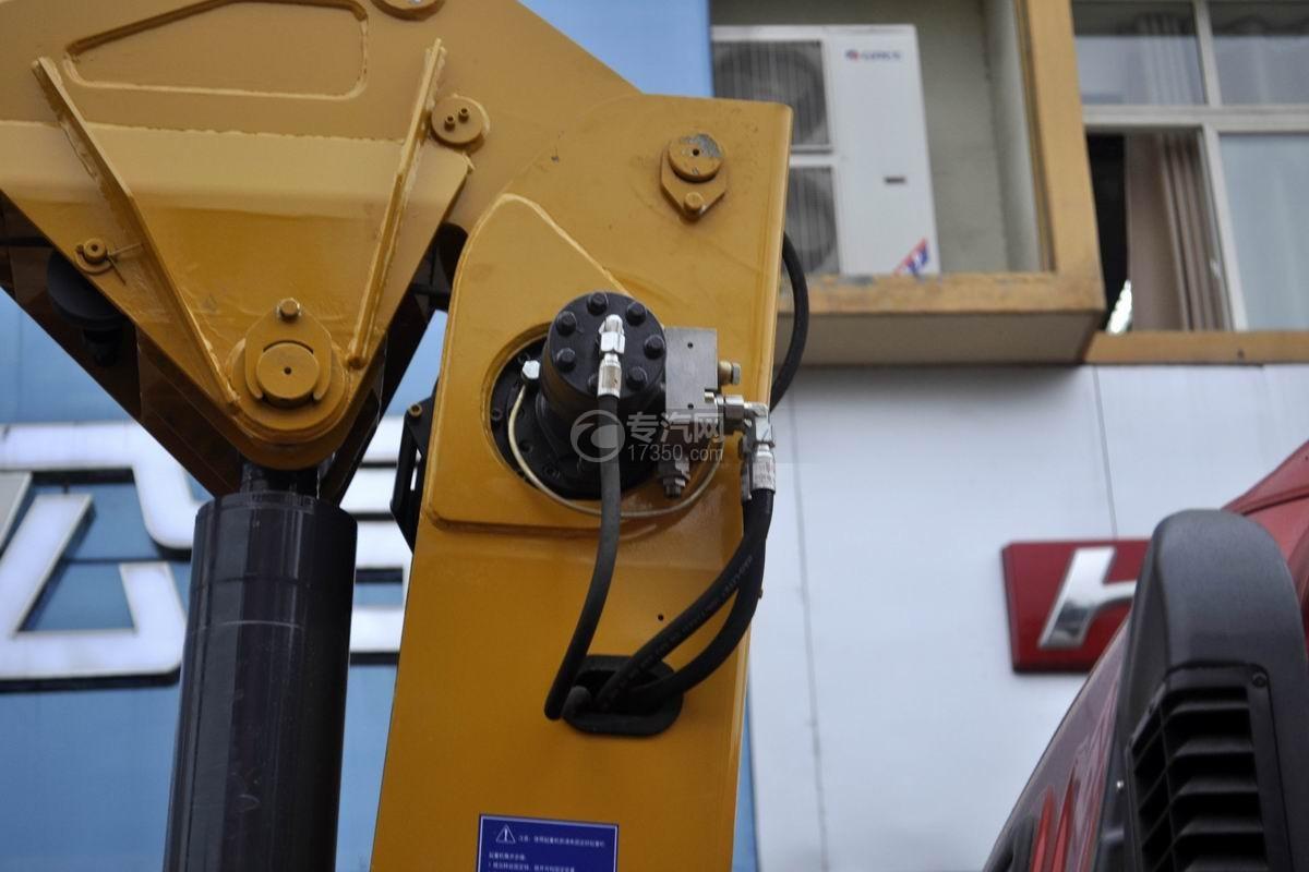 重汽王牌7系徐工3吨直臂式随车吊回转减速机