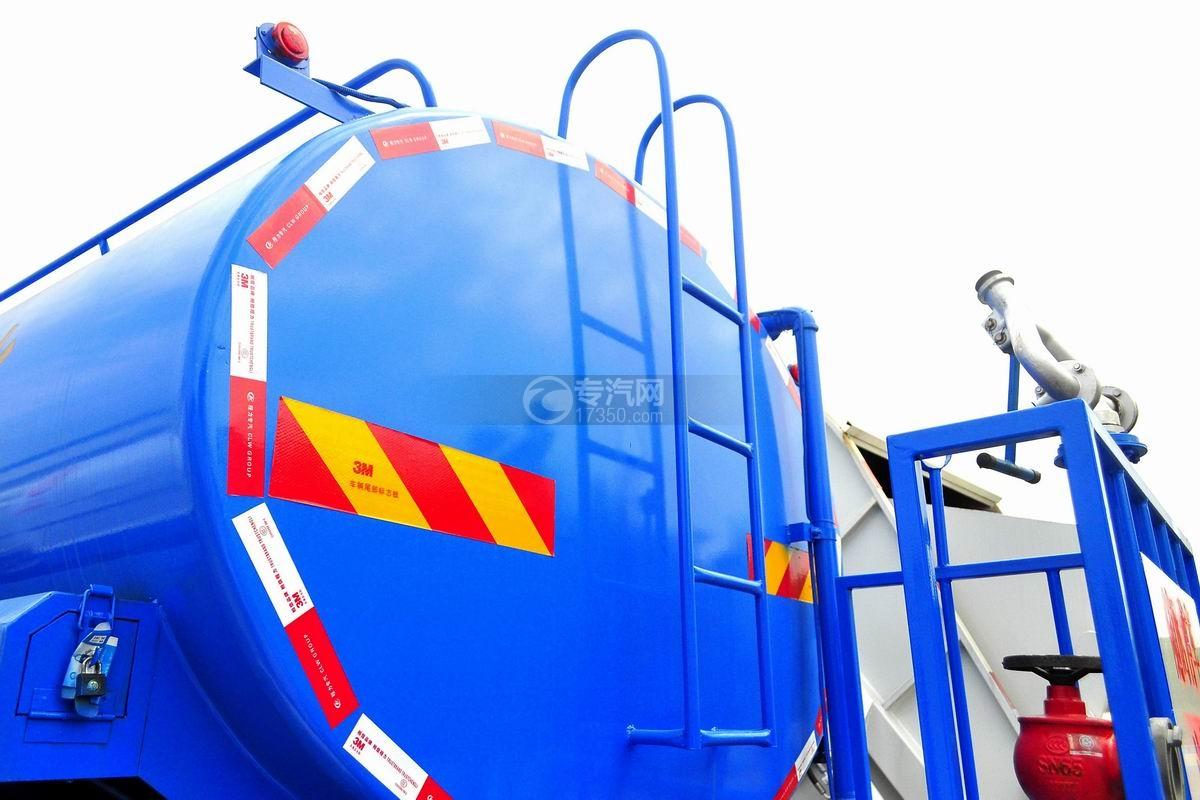 东风专用底盘国五12吨洒水车爬梯