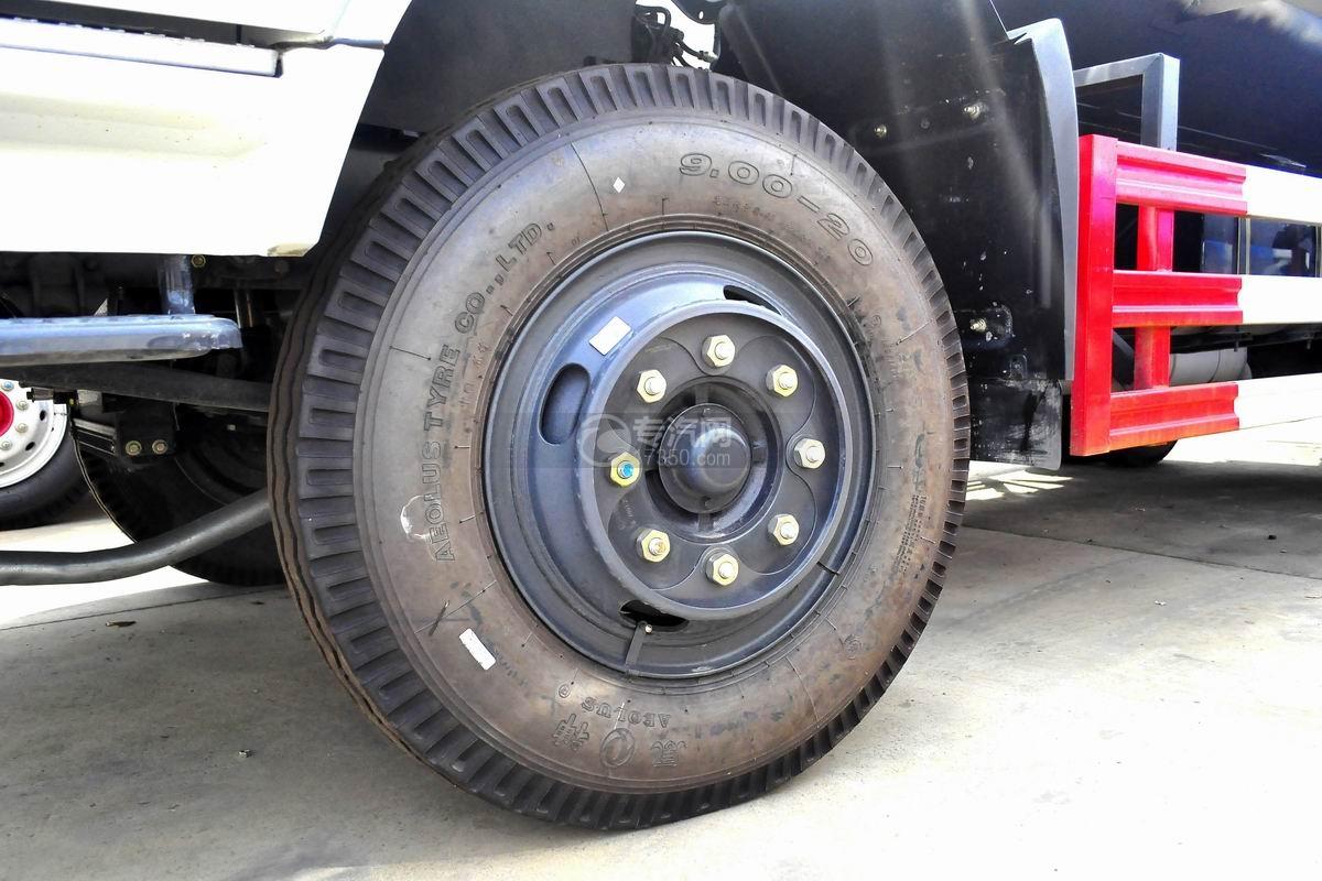 东风专用底盘国五12吨洒水车轮胎