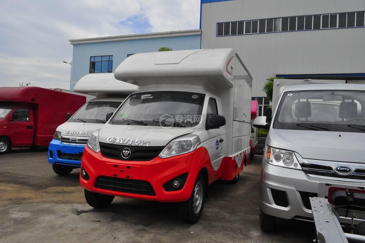 福田伽途T3国五售货车(红白款)
