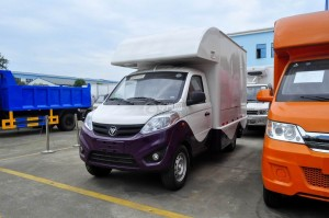 福田伽途T3國五售貨車(紫白款)圖片