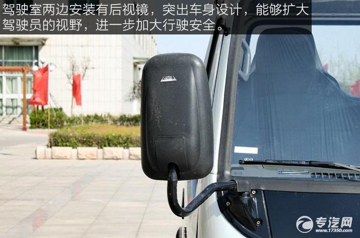 唐骏小宝马24马力纯电动单排微卡后视镜