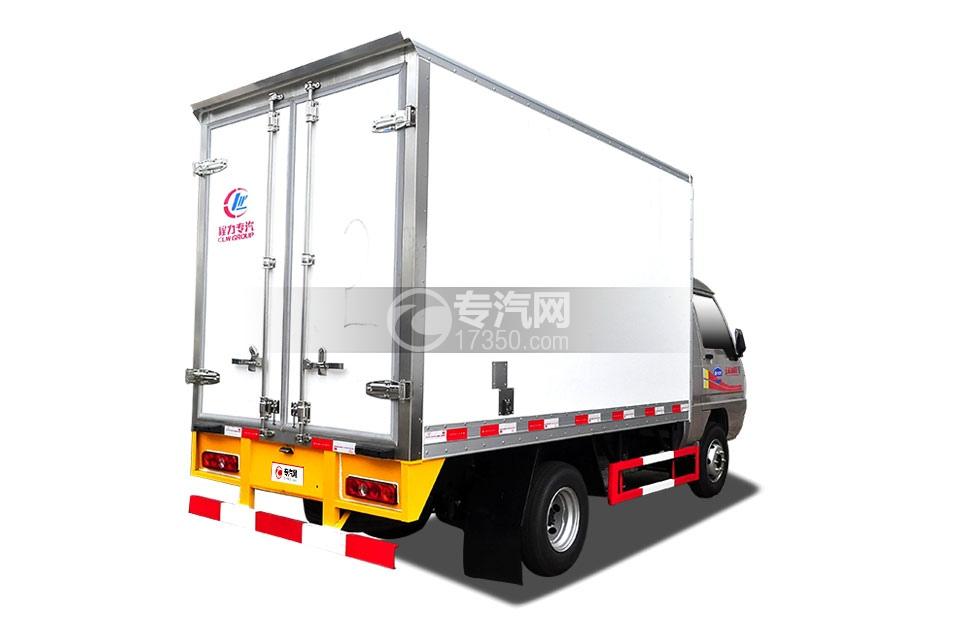 东风小霸王V冷藏车(医疗物品运输车)右后图