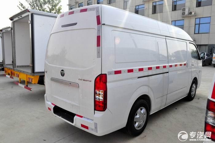 福田风景G7国五面包冷藏车