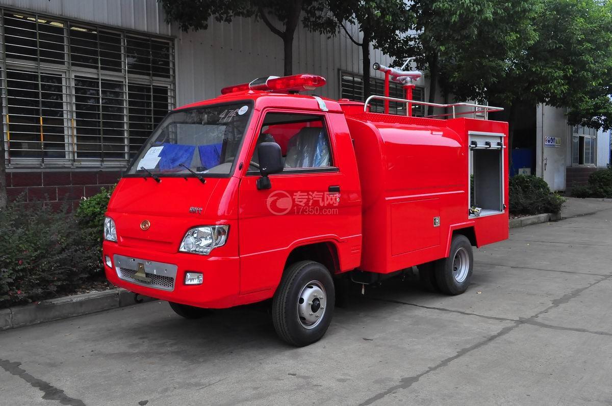 福田时代水罐消防车