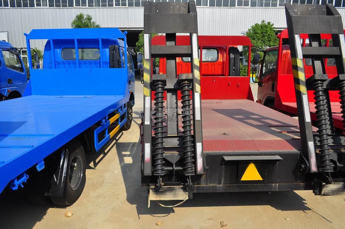 陕汽轩德X9平板运输车液压弹簧