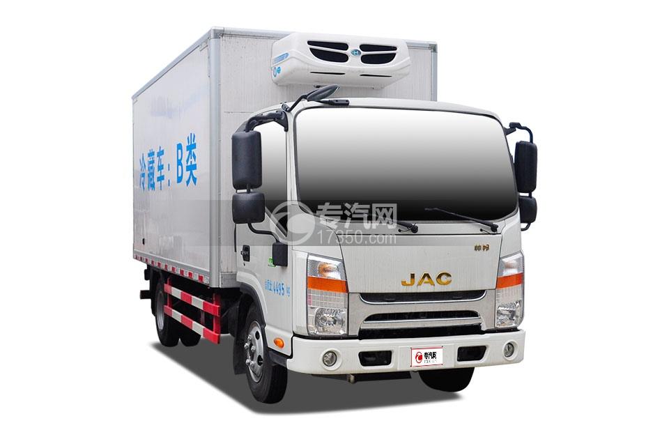 江淮帅铃窄体国五4.2米冷藏车