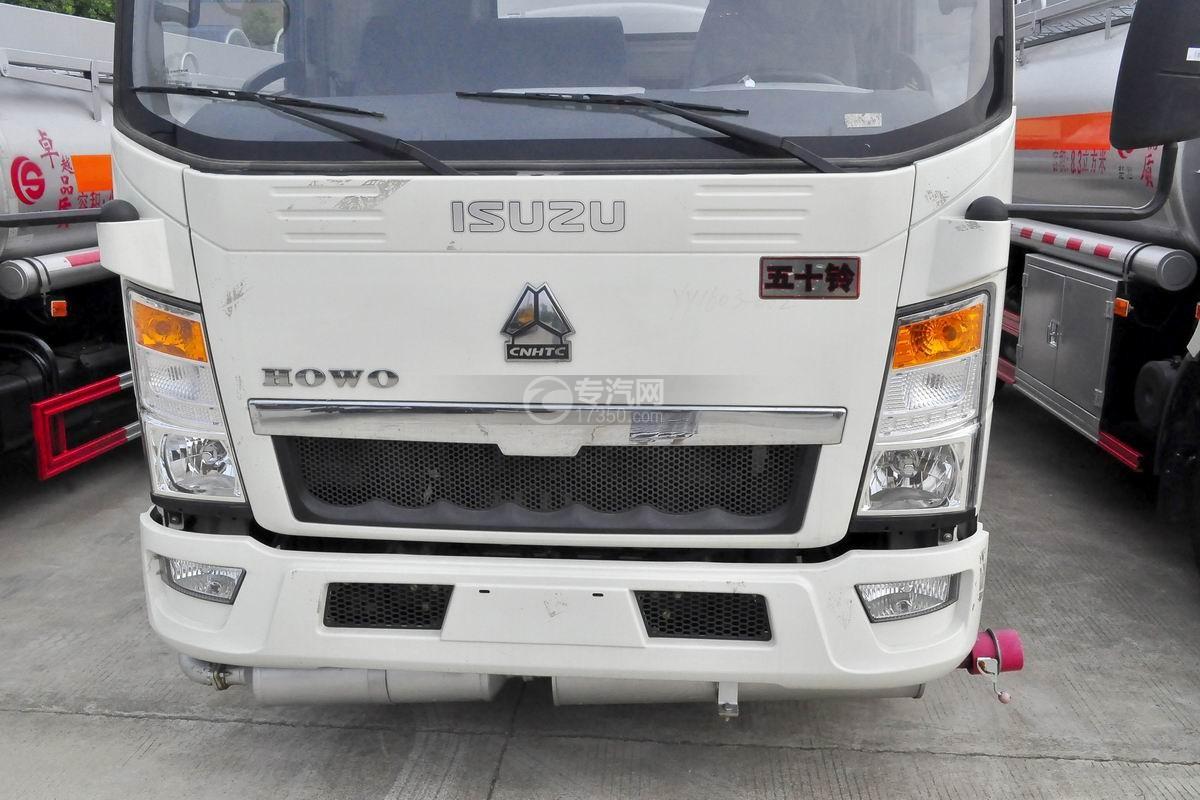 重汽豪沃5.2方加油车进气格栅