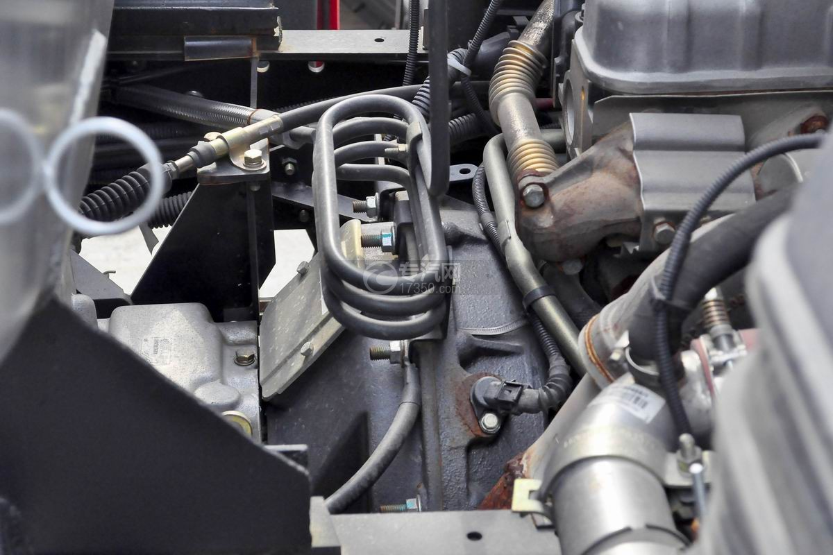 重汽豪沃5.2方加油车变速器