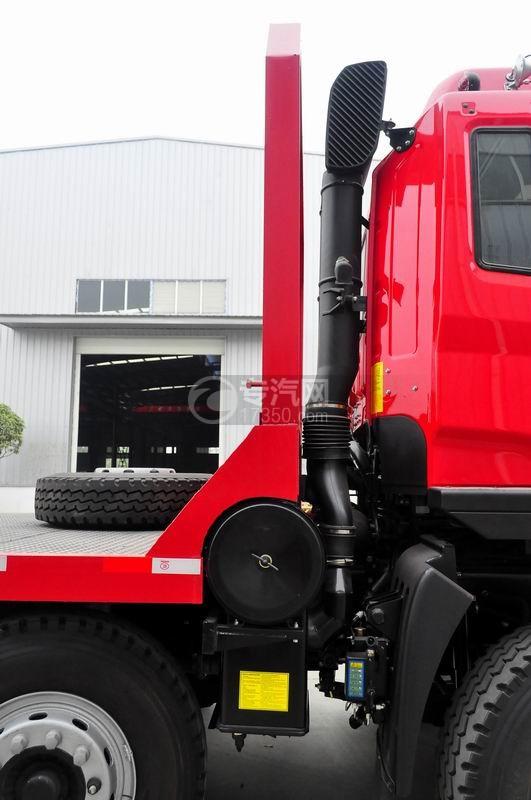 江淮格尔发K3x前四后八平板运输车空气进出口装置