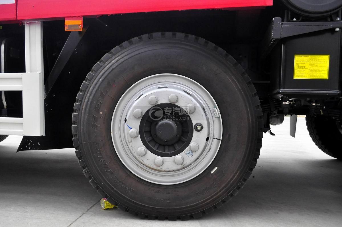 江淮格尔发K3x前四后八平板运输车轮胎
