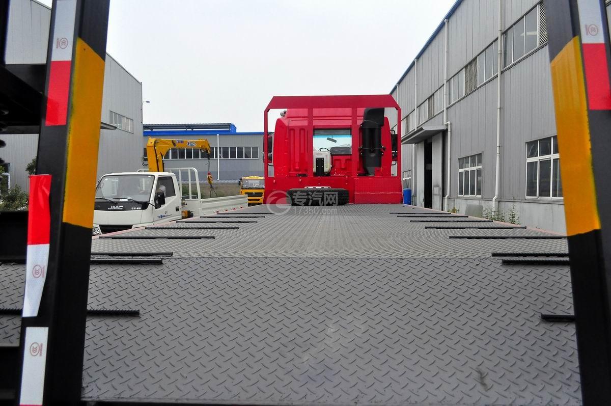 江淮格尔发K3x前四后八平板运输车平板