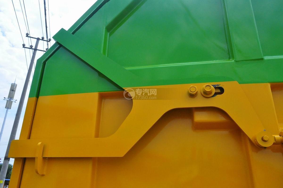 大运风度对接式垃圾车骨架