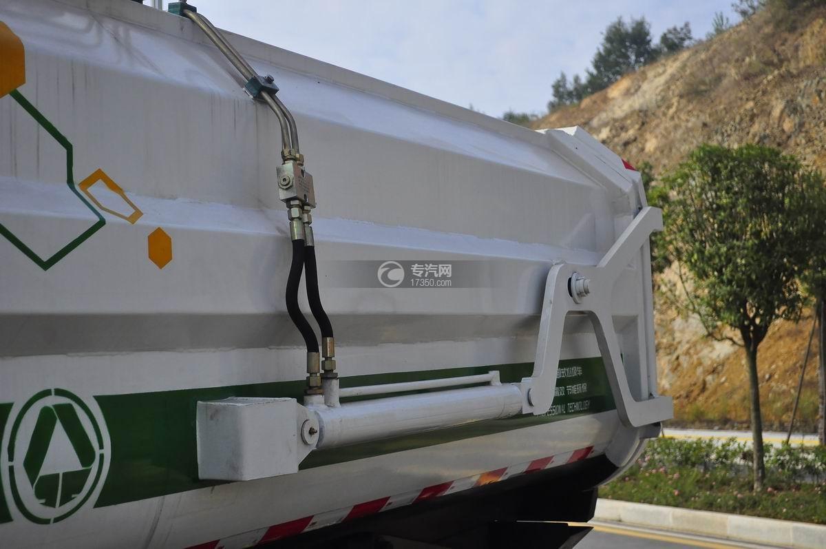 东风嘉运国五自装卸式垃圾车液压缸装置