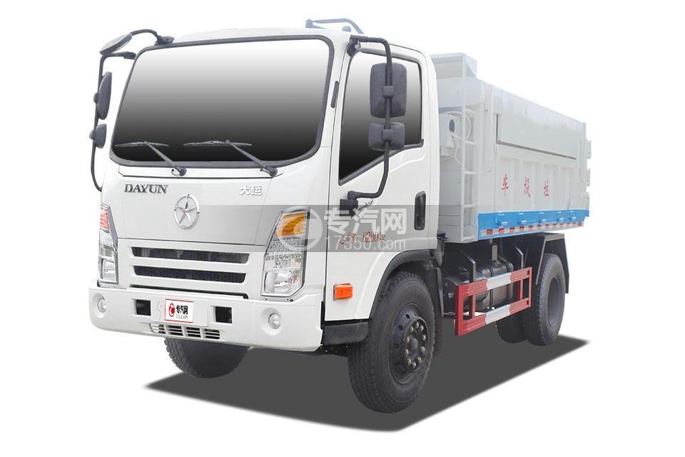大运奥普力5-6方自卸垃圾车
