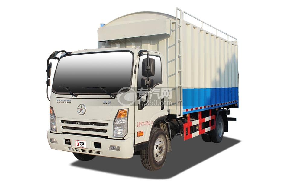 大运单排散装粮食运输车