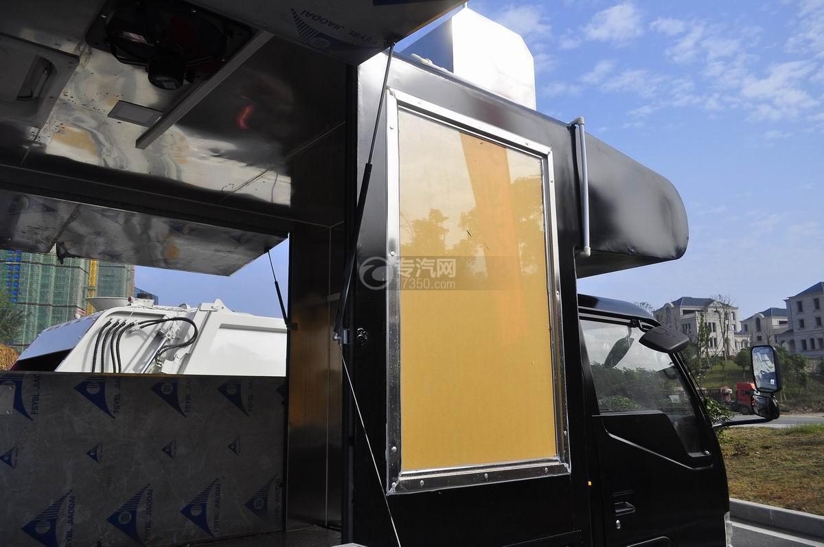 金杯領騏售貨車玻璃窗