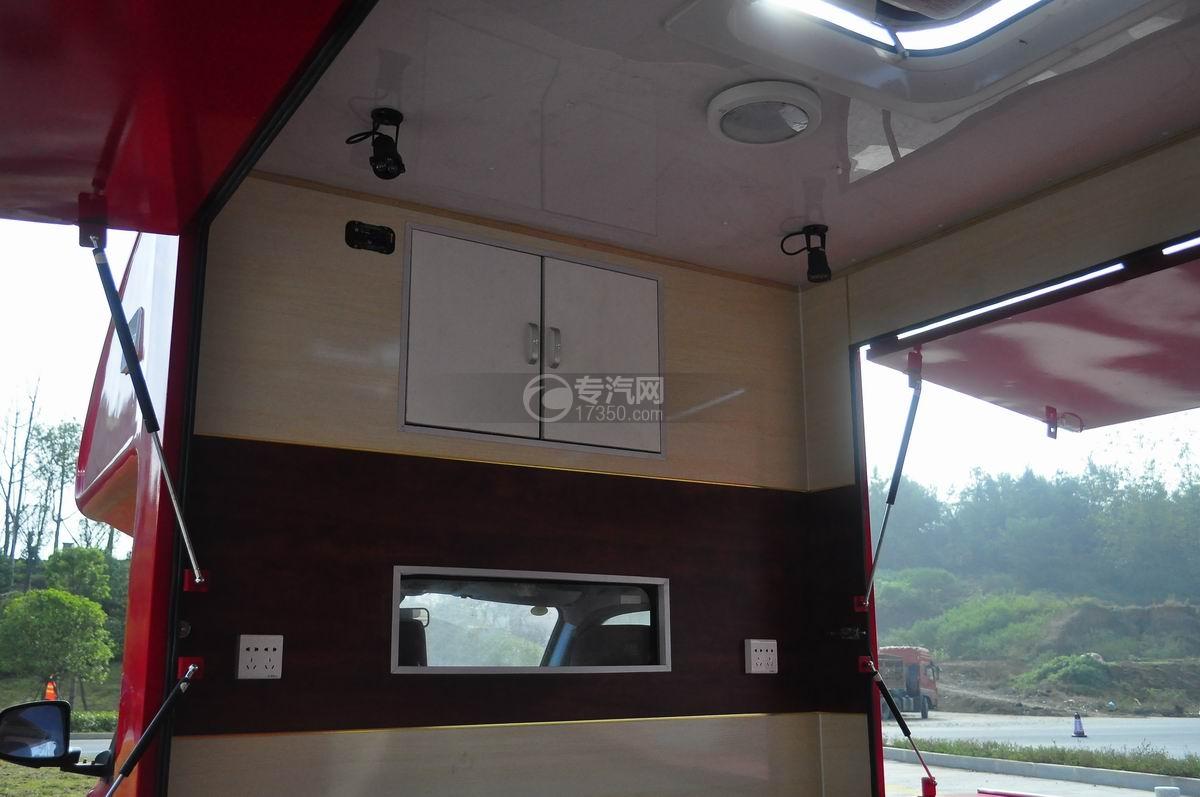 福田伽途T3流动售货车(大红)储物柜