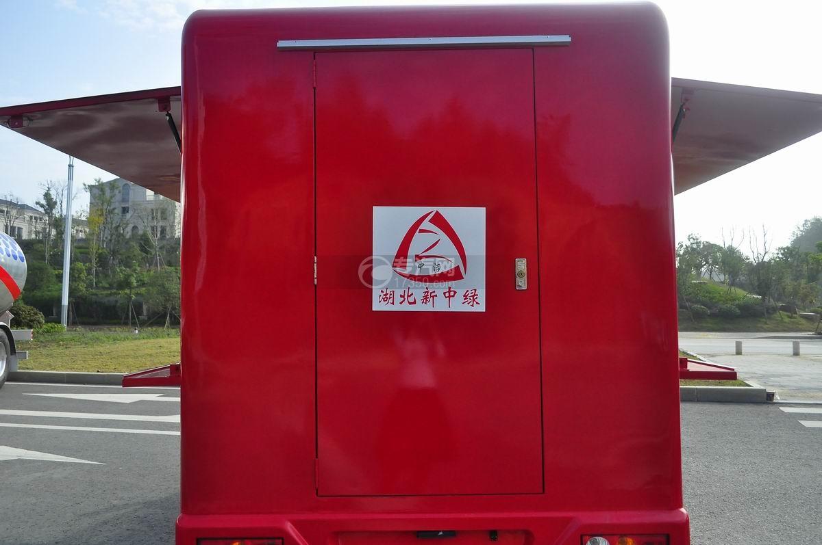 福田伽途T3流动售货车(大红)后车门
