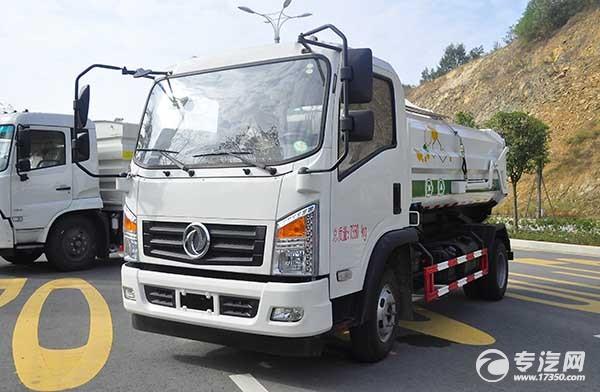 东风嘉运国五自装卸式垃圾车