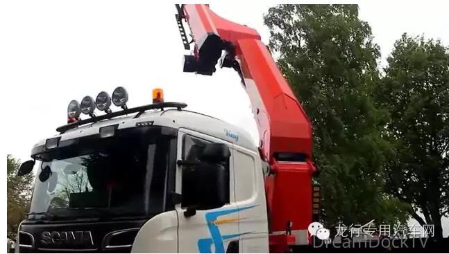 安全、稳定的斯堪尼亚高空作业车
