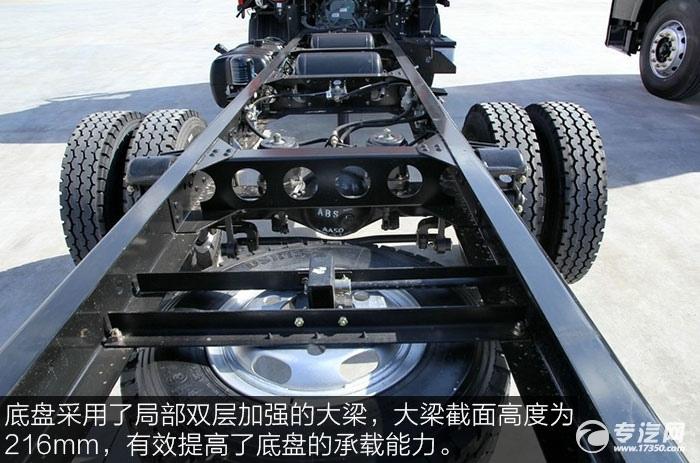 解放J6F重载版150马力4x2排半轻卡车架