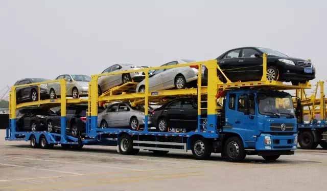 中集中置轴轿运车辆已获得289批产品公告