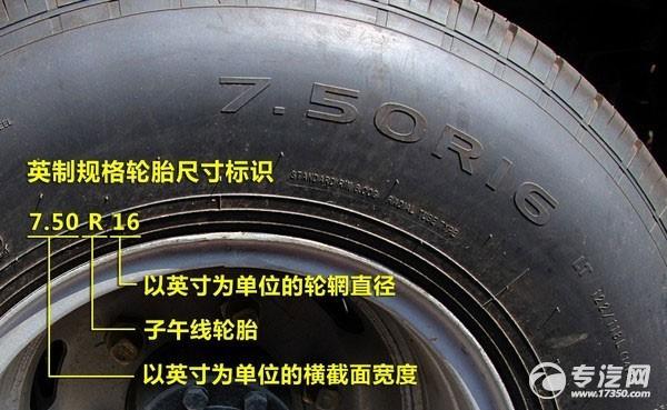 轮胎尺寸标识