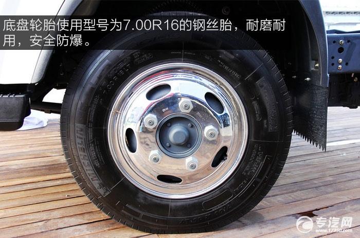 一汽通用F330速豹130马力3260轴距4.2米单排轻卡钢丝轮胎