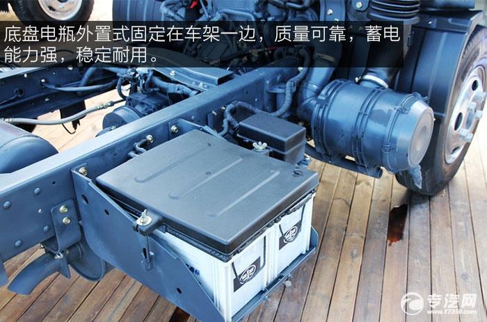 一汽通用F330速豹130马力3260轴距4.2米单排轻卡电瓶