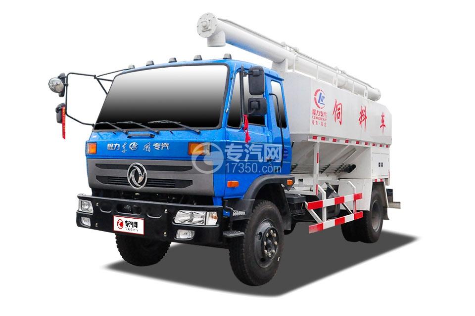 东风145散装饲料运输车