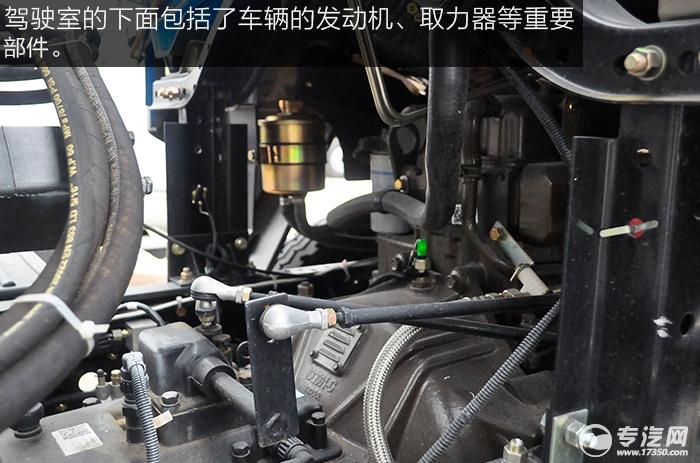 东风145散装饲料运输车发动机