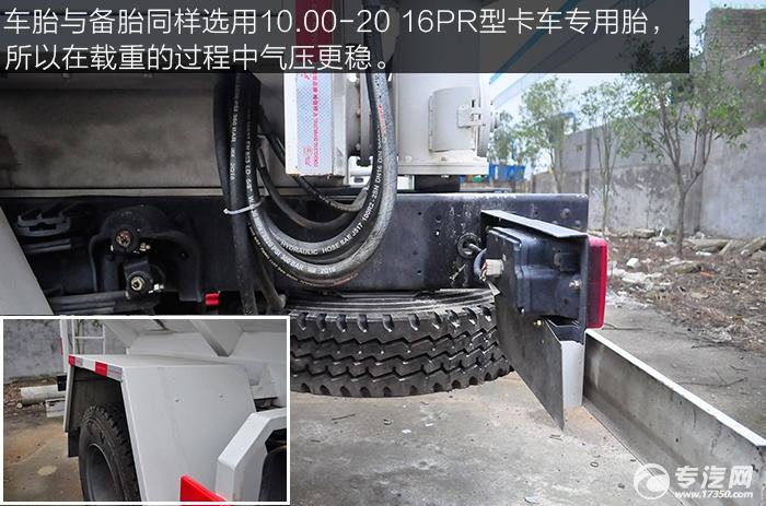 东风145散装饲料运输车车胎