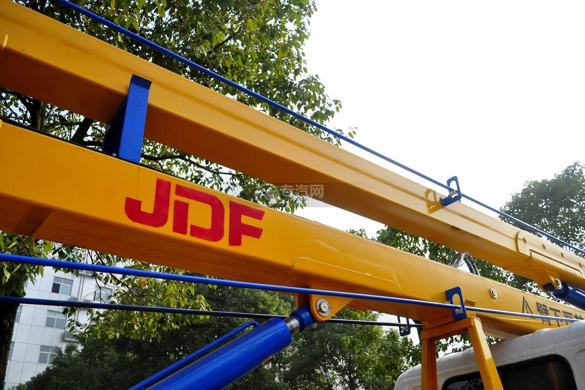 福田欧马可双排座14米高空作业车作业臂架