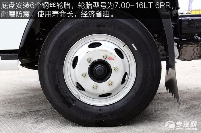 跃进超越C300国五125马力3308轴距单排轻卡钢丝轮胎